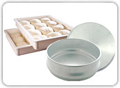 Pizza Dough Pans & Boxes