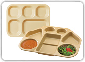 Correctional Compartment Trays